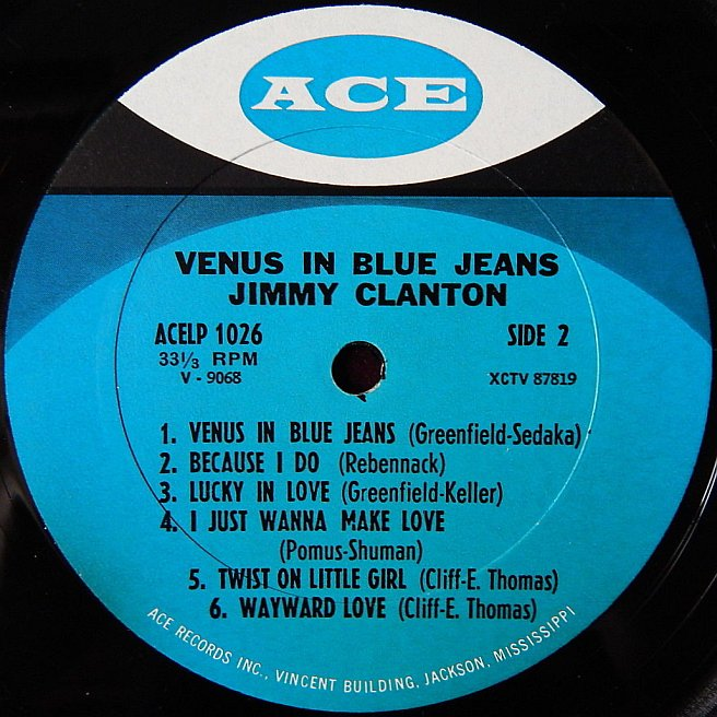 Label Variations: Ace Records