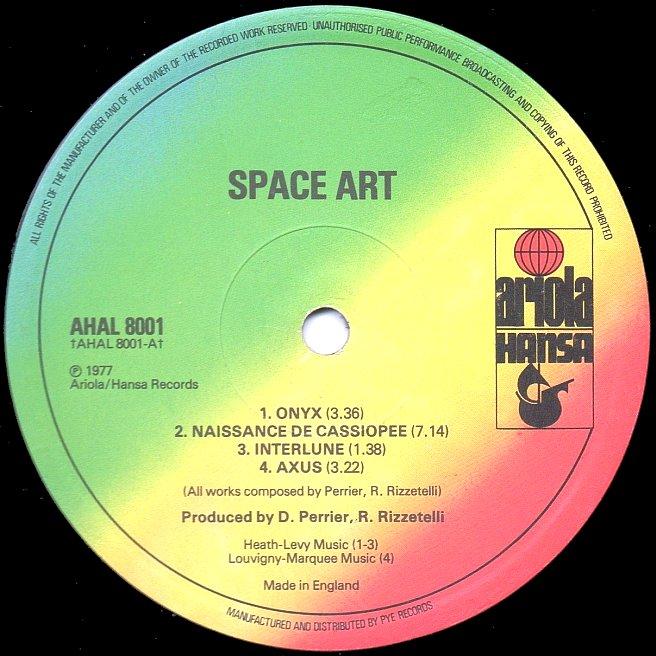 Cvinyl Com Label Variations Ariola Records