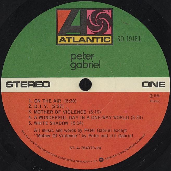 Cvinyl Com Label Variations Atlantic Records