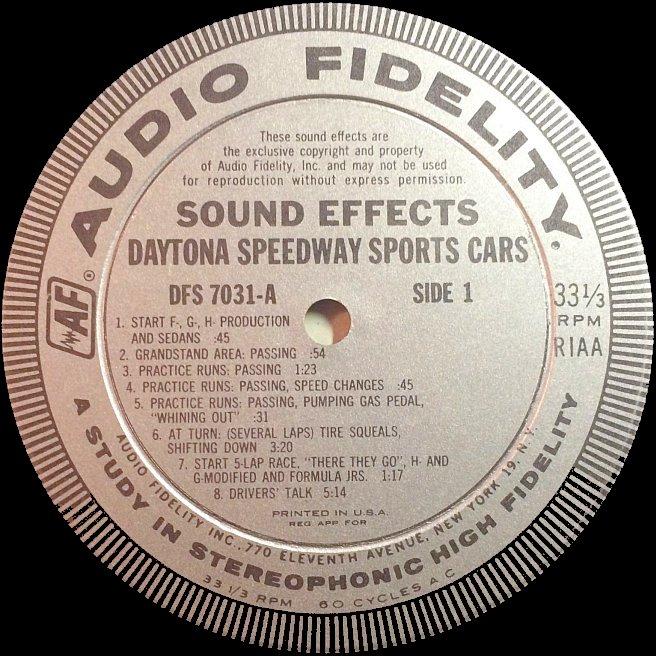 Label Variations: Audio Fidelity Records