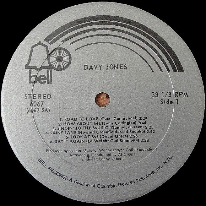 Cvinyl Com Label Variations Bell Records