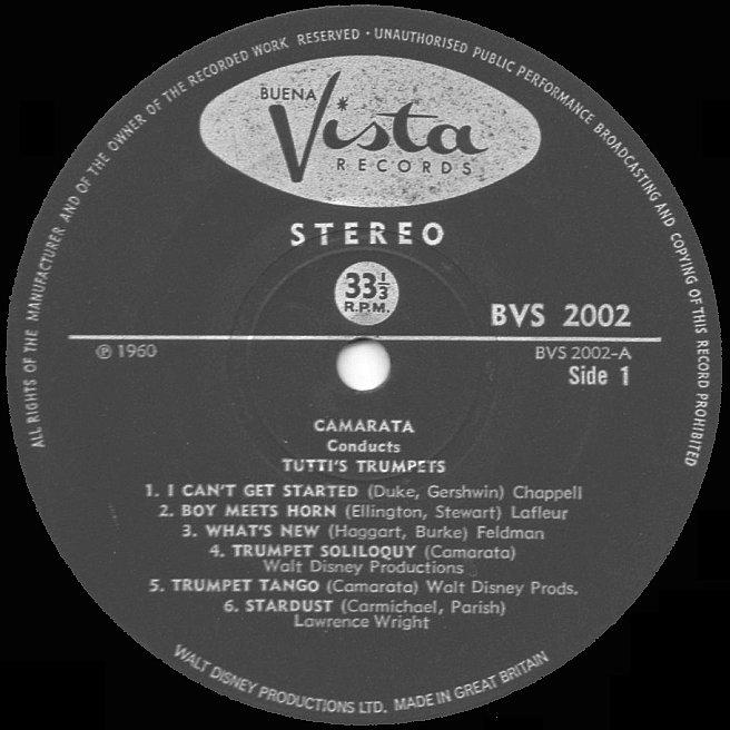 Cvinyl Com Label Variations Buena Vista Records