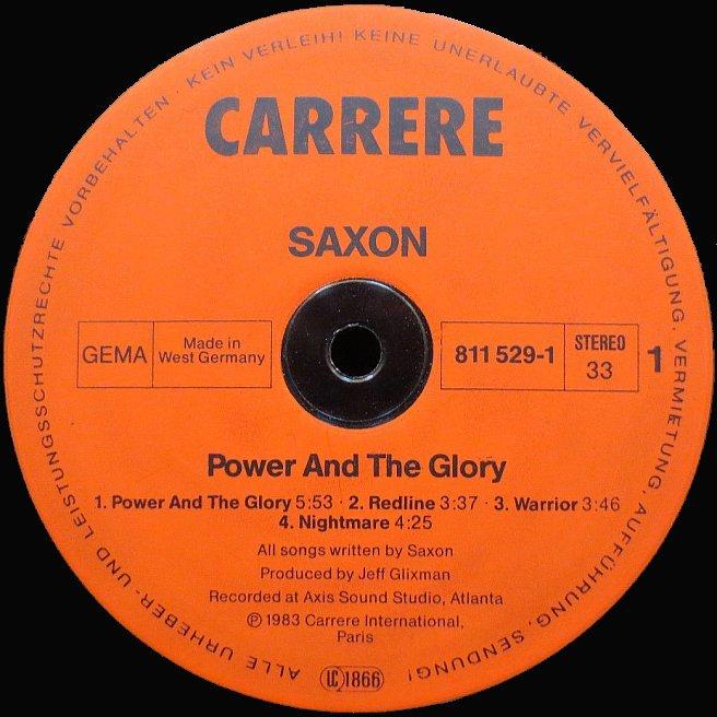 Cvinyl Com Label Variations Carrere Records