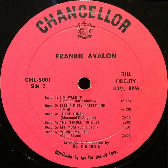 frankie avalon vinyl