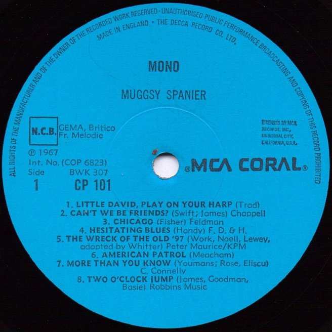 CVINYL COM - Label Variations: Coral Records