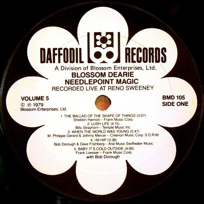 Cvinyl Com Label Variations Daffodil Records