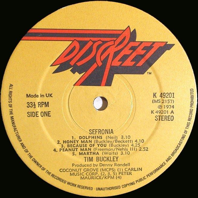 Cvinyl Com Label Variations Discreet Records