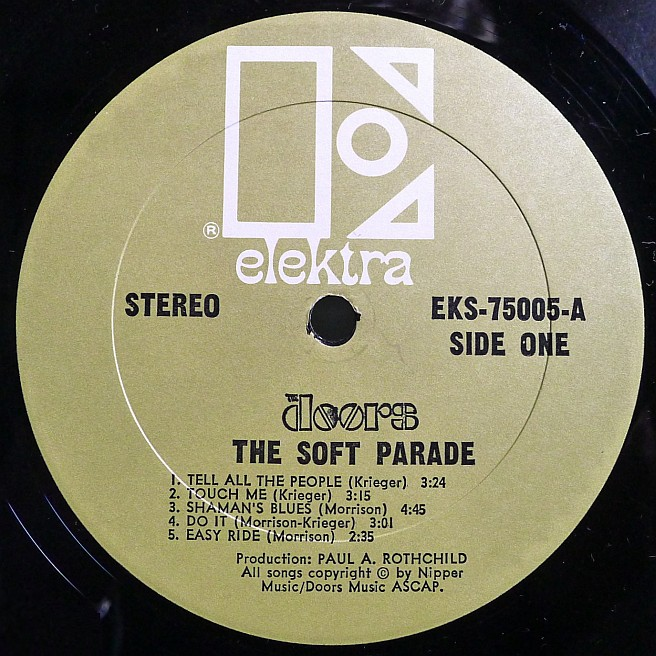 Cvinyl Com Label Variations Elektra Records