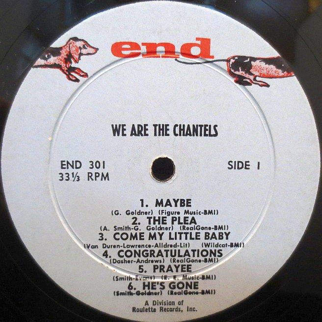 CVINYL.COM - Label Variations: End Records