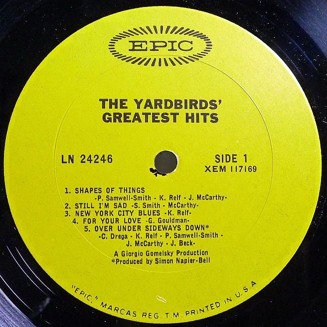 Cvinyl Com Label Variations Epic Records