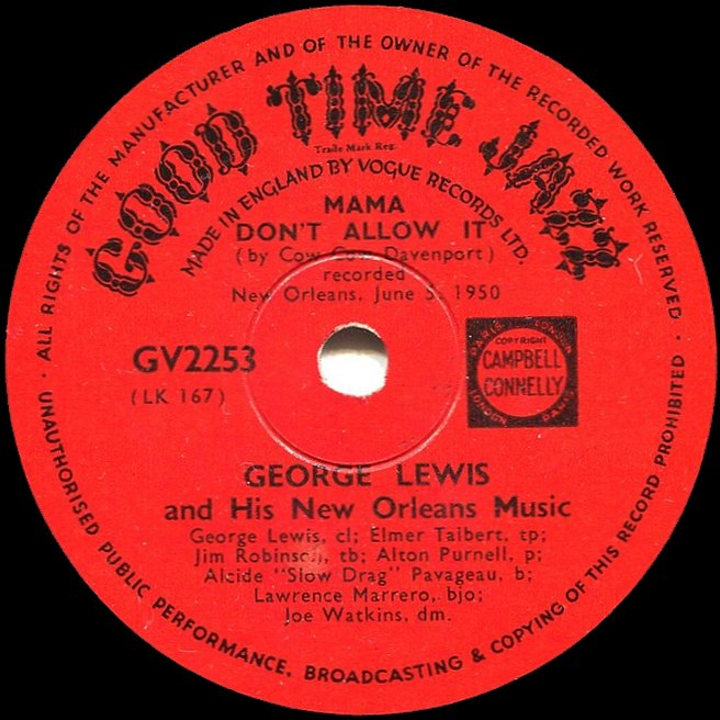 Cvinyl Com Label Variations Good Time Jazz Records