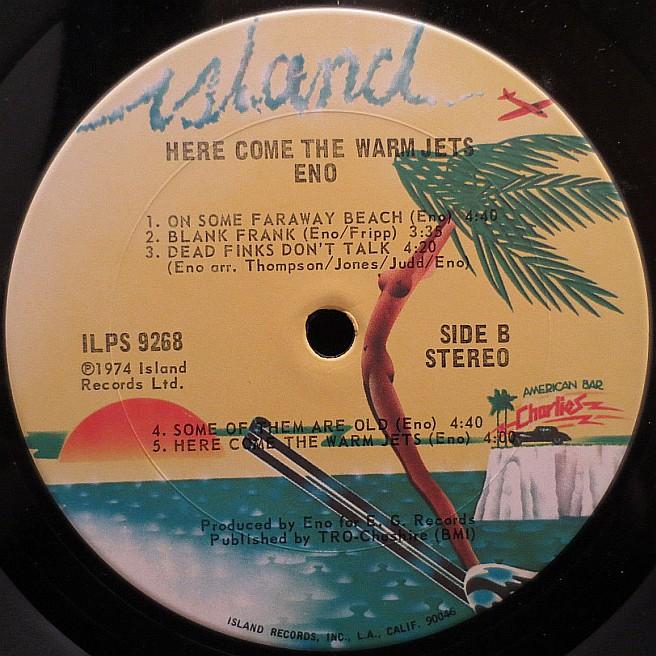 Cvinyl Com Label Variations Island Records