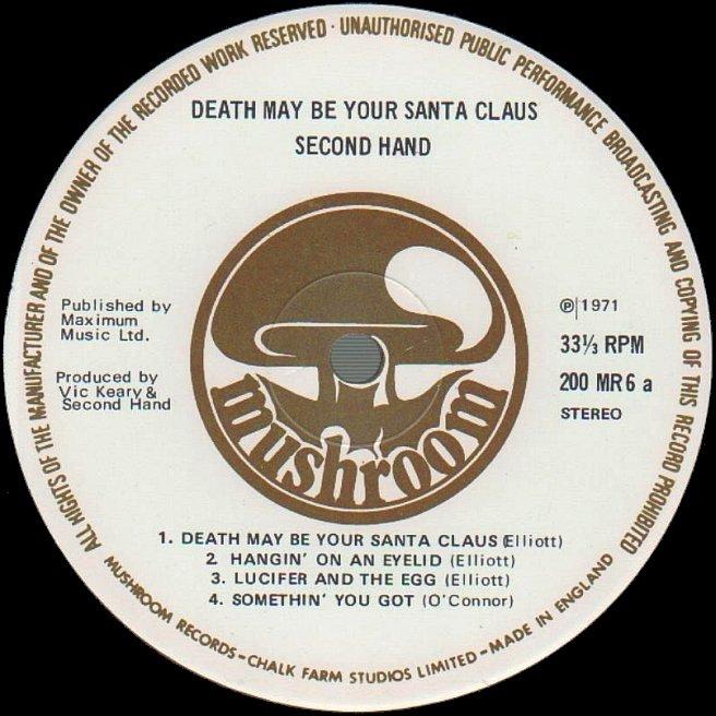 Cvinyl Com Label Variations Mushroom Records