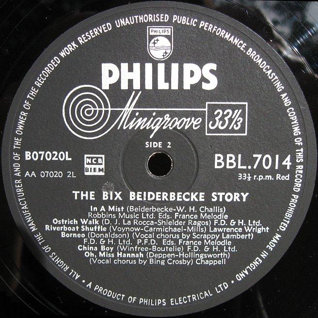 Cvinyl Com Label Variations Philips Records