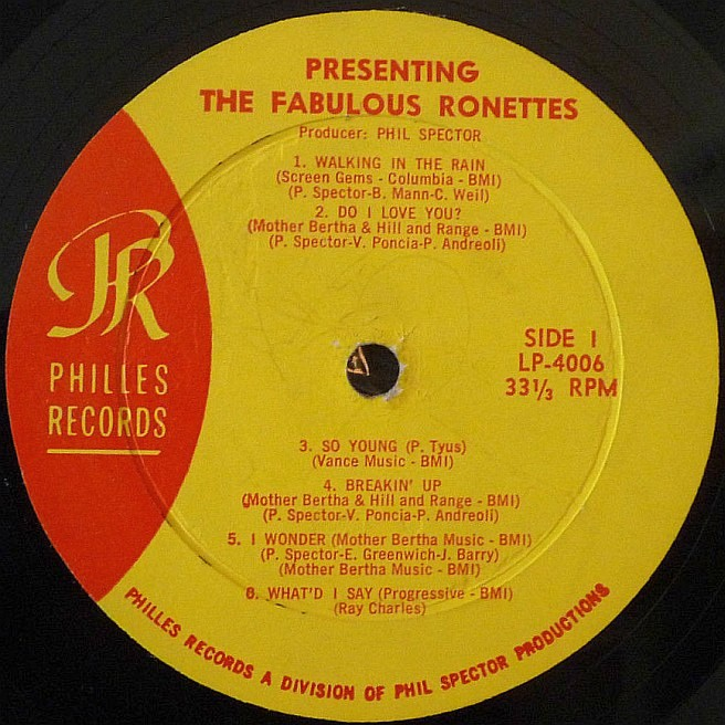 CVINYL COM - Label Variations: Philles Records