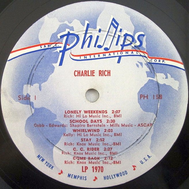 CVINYL.COM - Label Variations: Phillips International Records