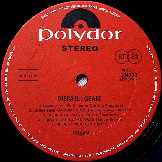 Cvinyl Com Label Variations Polydor Records