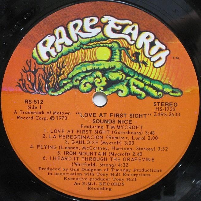 Cvinyl Com Label Variations Rare Earth Records