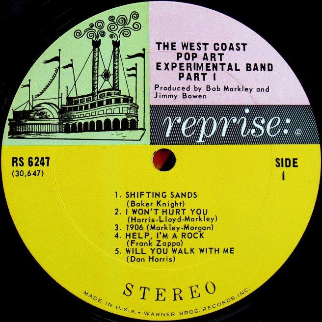 Cvinyl Com Label Variations Reprise Records