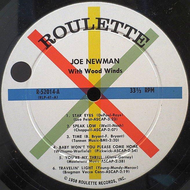 Cvinyl Com Label Variations Roulette Records