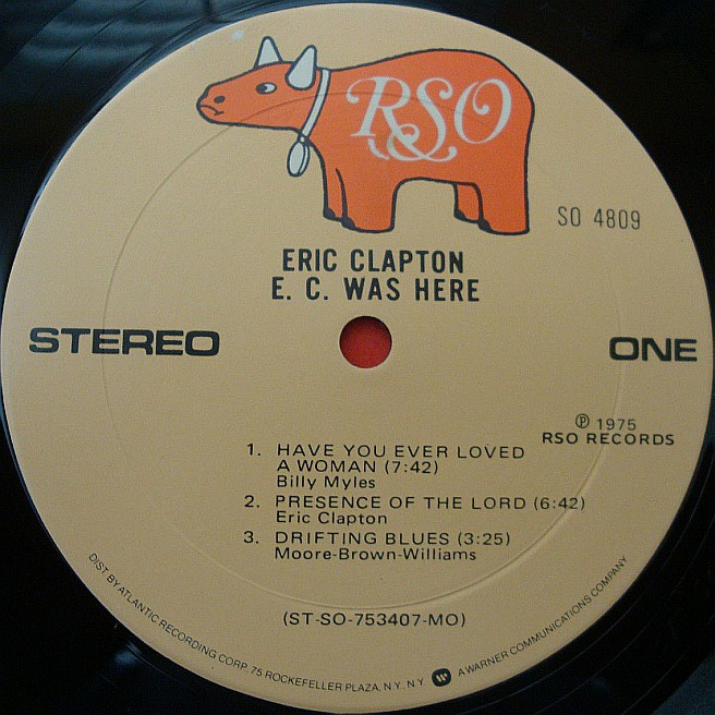 Cvinyl Com Label Variations Rso Records