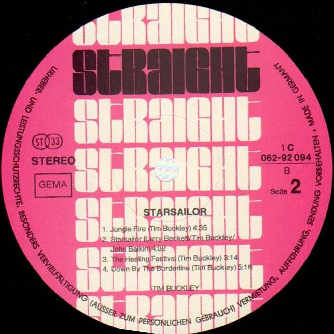 Cvinyl Com Label Variations Straight Records