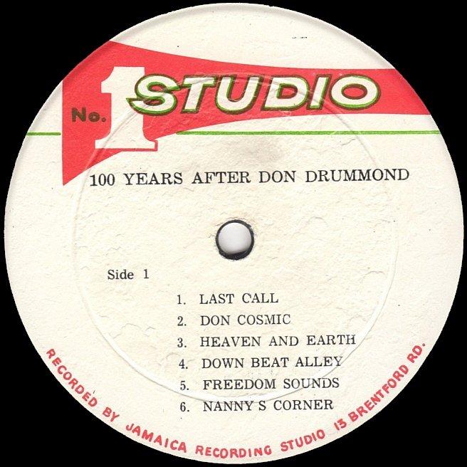 Cvinyl Com Label Variations Studio One Records