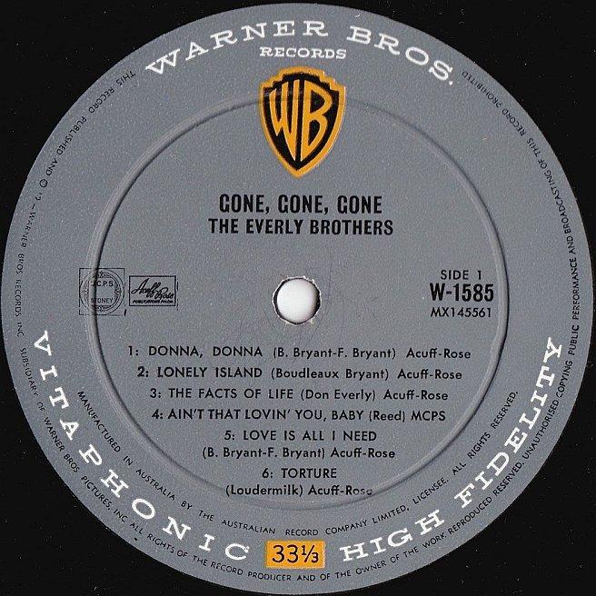 Cvinyl Com Label Variations Warner Bros Records