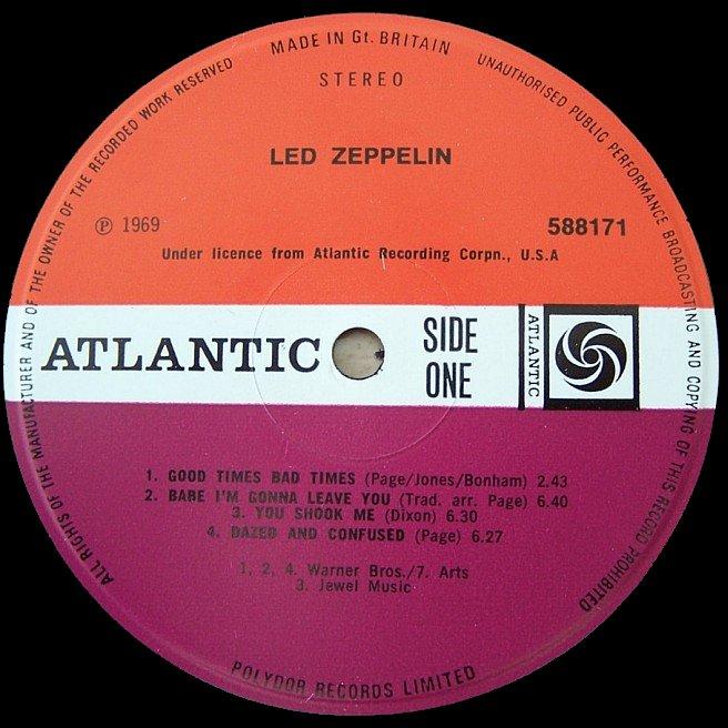 CVINYL COM - Label Variations: Atlantic Records