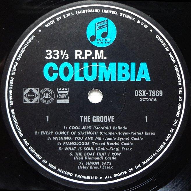 Cvinyl Com Label Variations Columbia Records