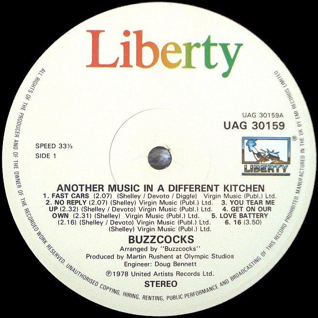 Cvinyl Com Label Variations Liberty Records