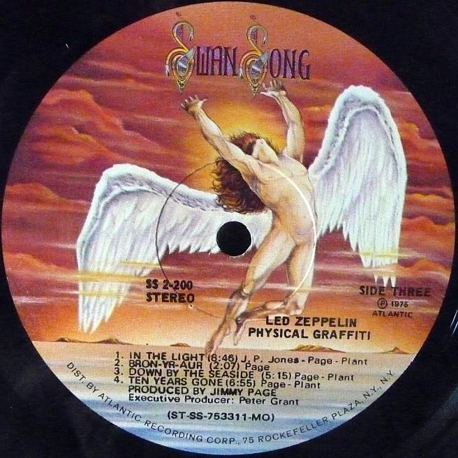 Cvinyl Com Label Variations Swan Song Records